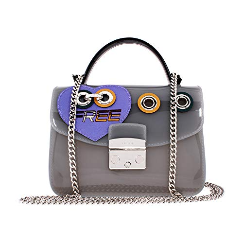 Furla Women's Candy Climbing Meringa Mini Crossbody Onicetonilavanda One Size