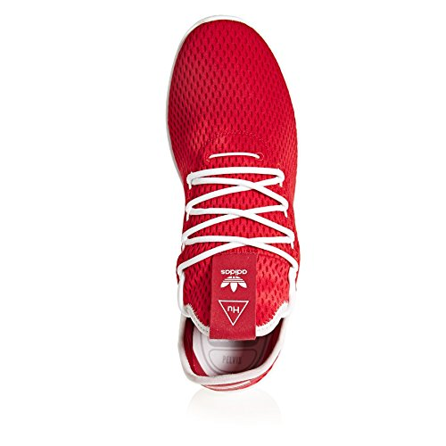 Adidas Original Pw Hu Holi Tennisskor 7,5 B (m) Us Kvinnor / 6,5 D (m) Oss Scharlakansrött