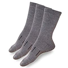 85% Merino wool , 13% Stretch Nylon, 2% Spandex. Highest Merino Wool content on market, yet durable and stretchy thanks to Stretch Nylon. Merino.tech 100% guarantees you will like our socks. If for any reason you get a hole - you can always r...