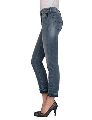 grey Straight Blue Replay 9 Donna Denim Grigio Jeans Jacksy qUEwXwPR