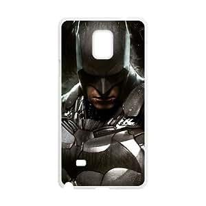 batman ac Samsung Galaxy Note 4 Cell Phone Case White 53Go-141679