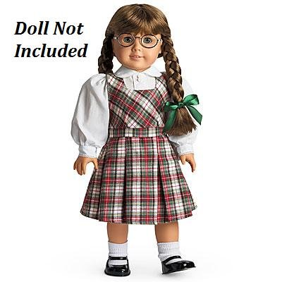 American Girl Molly's School Outfit Jumper Set for 18