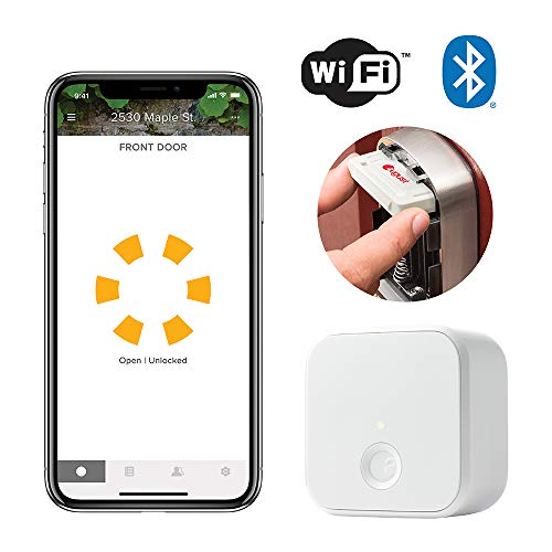Yale Security AYR202-CBA-KIT Connected by August Upgrade Kit for Assure Locks – Works with Alexa, Google Assistant and HomeKit (Siri), White
