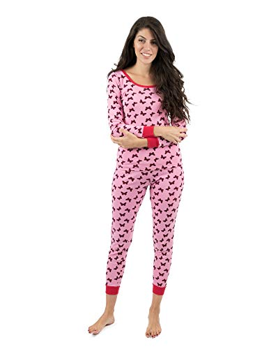 Leveret Womens Pajamas Butterfly 2 Piece Pajama Set 100% Cotton Size X-Large -