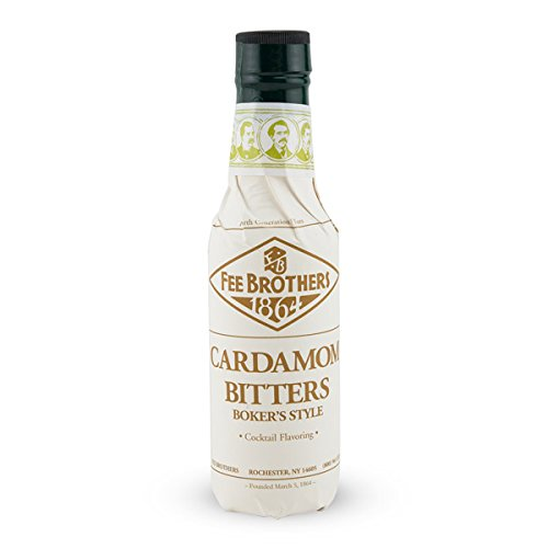 Fee Brothers Cardamom Boker's Style Cocktail Bitters - 5 oz ()