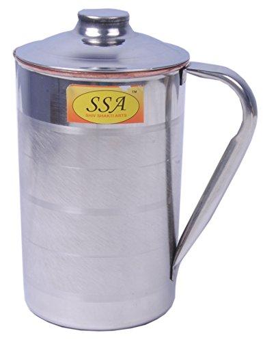 SHIV SHAKTI ARTS S/C Jug for water serving purpose capacity = 1000 ml