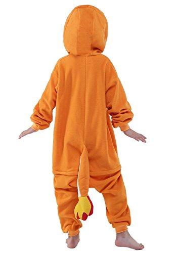 b1f04f8194 JT-Amigo Kids Unisex Cosplay Pajamas Onesie Charmander - Import ...