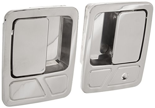 All Sales 511 Polished Billet Aluminum Door Handle and Bucket (Billet Door Bucket)