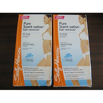 Sally Hansen Pure Scent-sation Hair Remover Creme for Body 5.3 Oz - Pack of 2 ()