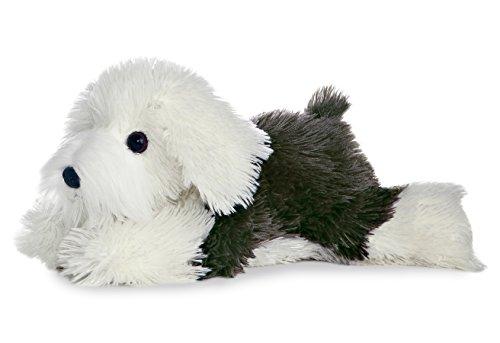 """Aurora World Flopsie 12"""" Sheep Dog Edwin"""