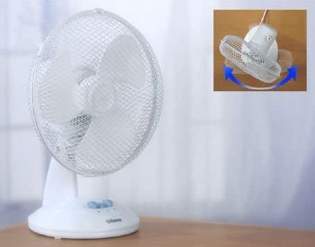 Tristar VE 5923 ventilador de mesa 23 cm 30 W blanco: Amazon.es ...