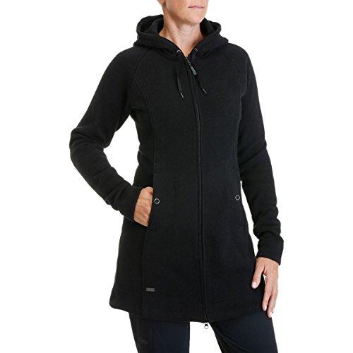 Bonfire Fleece Hoodie - Outdoor Research Women's Longitude Hoody, Black, X-Small