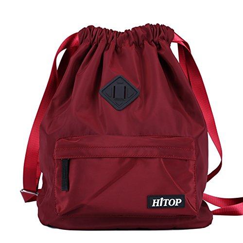 Waterproof Drawstring Sport Bag, lightweight Sackpack backpa