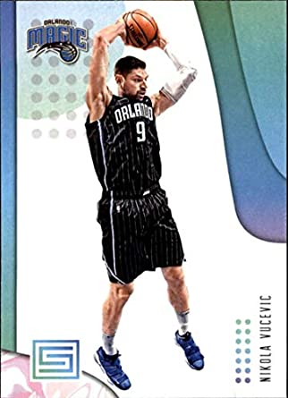 2018-19 Panini Status #99 Nikola Vucevic NM-MT Orlando Magic Officially Licensed