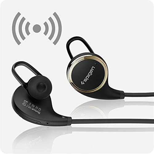 spigen r12e wireless headphones bluetooth headphones w mic earbuds headset e. Black Bedroom Furniture Sets. Home Design Ideas