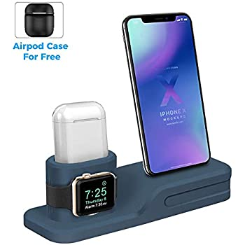 Amazon.com: LEWOTE 3in1 Silicone Charging Stand Dock