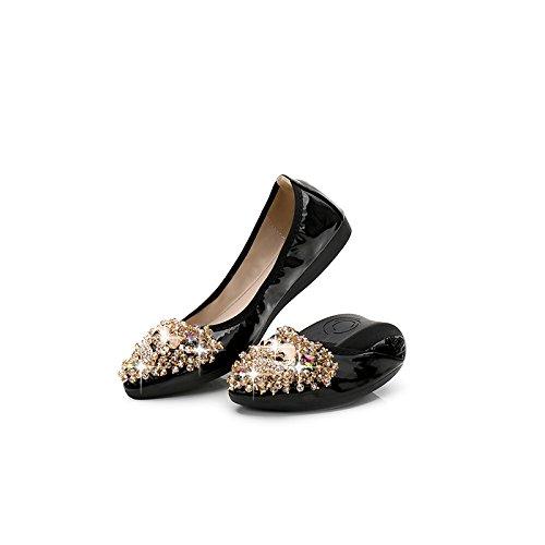 de seven de Donyyyy Thirty zapatos Zapatos tacón mujer bajo con profesional SHxBqw