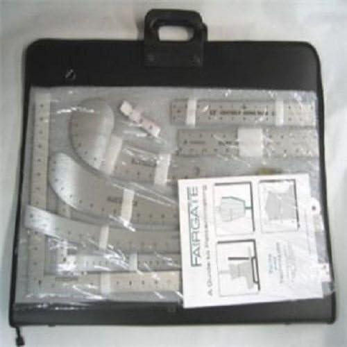 Fairgate 15 – 100 pulgadas bolso del diseñador de moda regla Kit con funda: Amazon.es: Juguetes y juegos