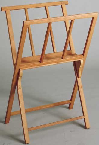 Mabef MBM-38 Folding Wooden Print Rack by Mabef