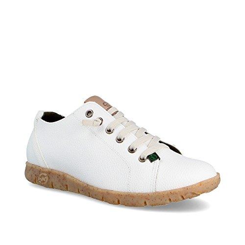 Eco Slowwalk Blanco W Sneaker Teemo Mujer RINNOVA Zapatilla cWTHz