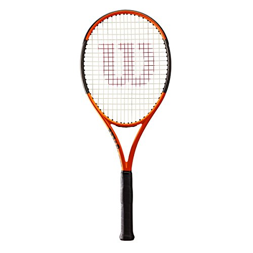 Wilson Burn 100ls Limited Edition Tennis Racquet, Orange/Black - Unstrung