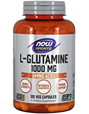 Now Foods L-Glutamine Double Strength, 1000mg, 120 capsules
