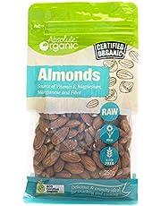 Absolute Organic Raw Almonds, 250g