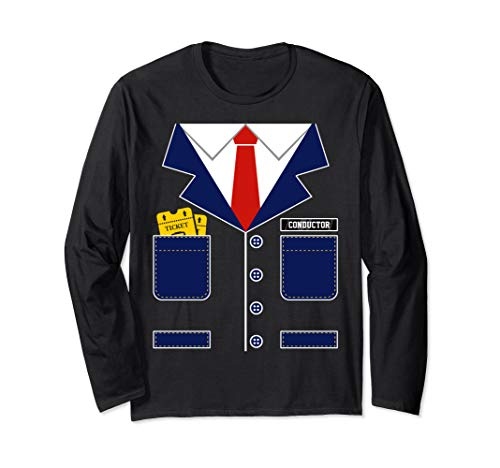 Train Conductor Uniform Shirt Halloween Costume for Kids ()
