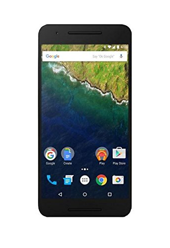 Huawei Nexus 6P  unlocked smartphone, 32GB Silver (US Warranty)