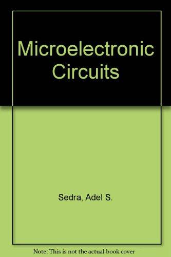 MICROELECTRONIC CIRCUITS ADEL S SEDRA PDF