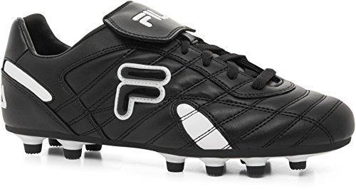 Cleats MD Black Leather White Mens Athletic III Fila Fila Forza BqnIOxv0B