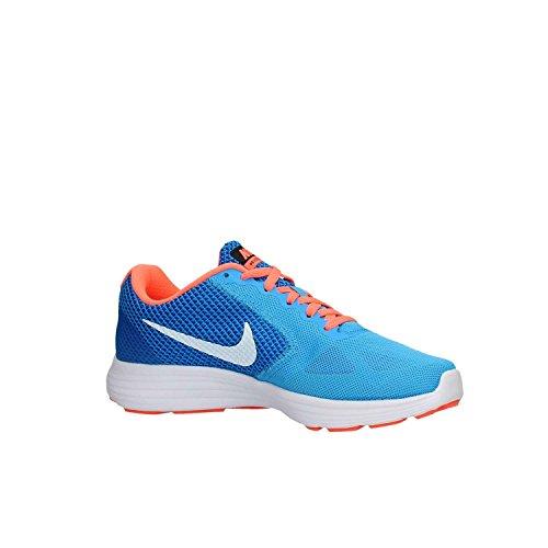 Nike 819303 402, Zapatillas Para Mujer Azul (Bl Glow / White Rcr Bl Brght Mng)