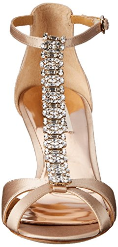 Women Latte Mischka Wedge Romance Sandal Badgley FxA5qnF