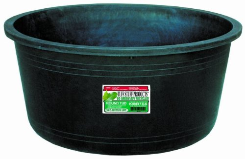 Circular Tub, 15-Gallon (Round Feeder Tub)