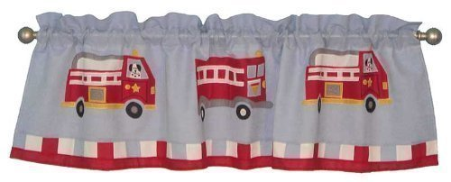 PEM America VC0439-4100 Cotton Fire Truck Valance by PEM America