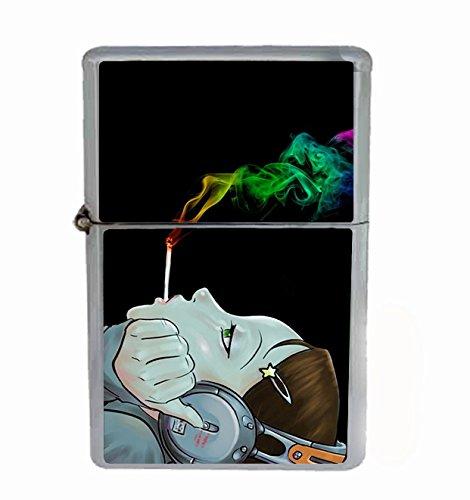Smoke-Weed-Anime-Flip-Top-Oil-Cigarette-Lighter