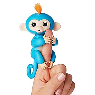 Interactive Baby Monkey, Fingerlings Pet Electronic Little Baby monkey Children Kids Toys by generic