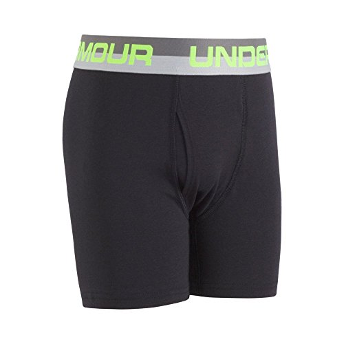 Under Armour Charged Cotton Stretch Boxerjock 2-Pack YSM Carbon Heather by Under Armour