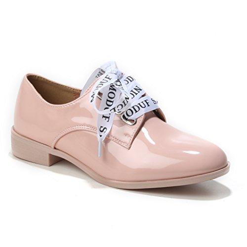 Rose Bonbon à Chaussures HERIXO Lacets Femme wx1IXSv8q
