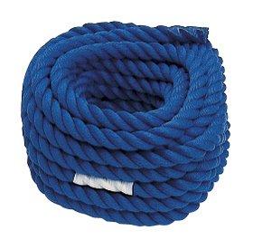 運動会用品 綱引き ロープ 青 直径30㎜×長さ20m B003ISICFG