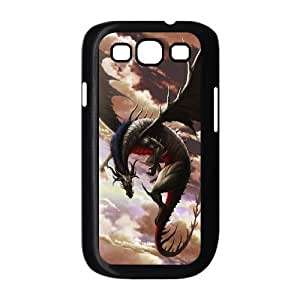 LZHCASE Diy Back Case Dragon For Samsung Galaxy S3 i9300 [Pattern-1]