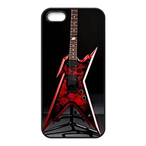iPhone 5s Case,iPhone 5 Case, Guitar Series Pattern Hard Back Cover Snap on Case for iPhone 5 / 5s