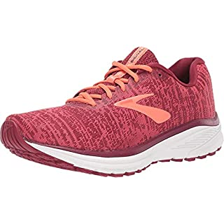 Brooks Women's Signal Running Shoe, Rumba Red/Teaberry/Coral 9.5 B US