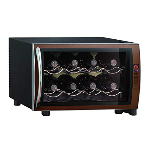 Small thermoelectric Wine Cooler - Red Wine Constant Temperature and Humidity Wine Cooler - Intelligent Electronic chip Cigar Freezer - Multi-Function high-end Storage Cabinet