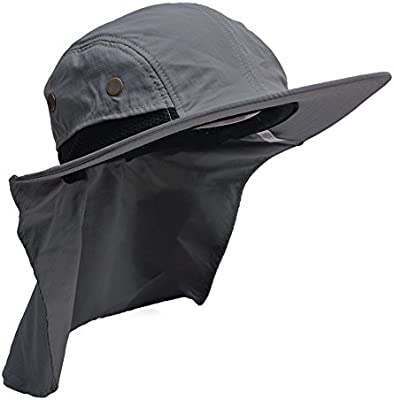 Chilly Shade Cooling Neck Cover Sun Protection Fishing Camping Hunting Hat