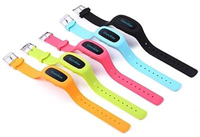 "Fitness Tracker Activity Tracker Pedometer Smart Bracelet Wristband, iSunshineâ""¢ Updated Version"