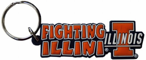 NCAA Illinois Fighting Illini Festive PVC ()