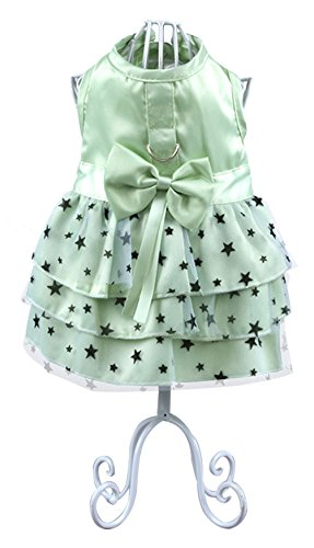 Alice In Wonderland Costumes Rental (Uniquorn 2017 New Spring Summer Pet Dog Dress Lovely sweet star bow dress Breathable And Comfortable Dogs Clothes)