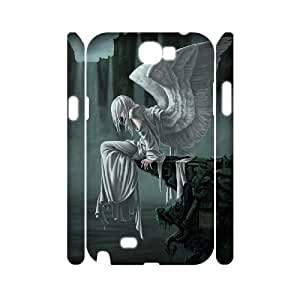 HXYHTY Fantasy Angel Customized Hard 3D Case For Samsung Galaxy Note 2 N7100