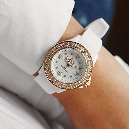 Ice-Watch ICE star Orologio Bianco da Donna con Cinturino in Silicone  017232 (Small)